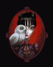 extrait de Les contes macabres illustré par B. Lacombe