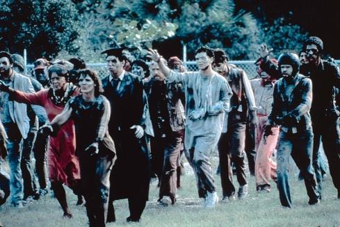 Romero zombie crowd