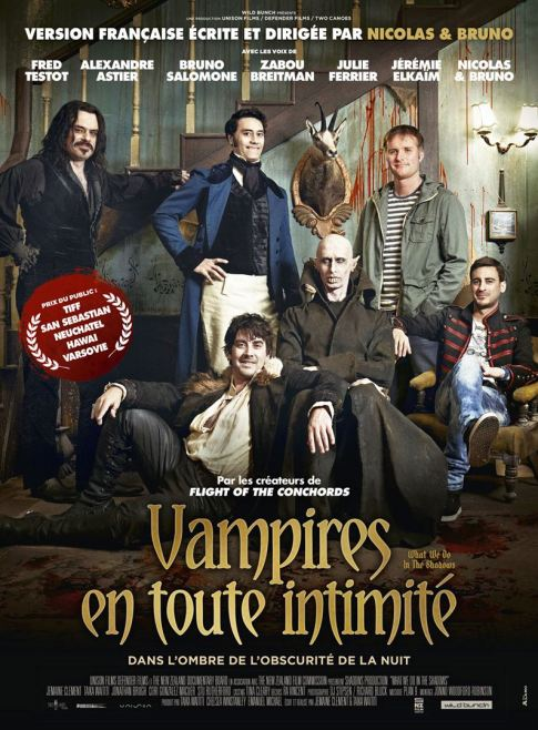 Vampires en toute intimité (What we do in the shadows), 2015