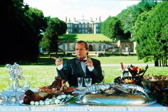 Jack Nicholson dans le rôle de Daryl Van Horne, The Witches of Eastwick, 1987