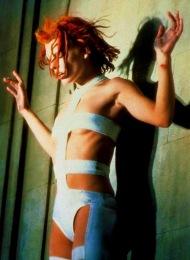 Milla Jovovich dans le rôle de Leeloo