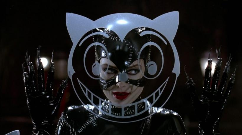 Batman, le défi, Tim Burton avec Michelle Pfeiffer dans le rôle de Catwoman