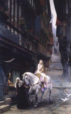 Lady Godiva, Jules Lefbvre,1890