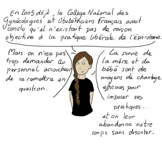 extrait d'un article de l'illustratrice Emma : l'histoire de ma copine Cécile
