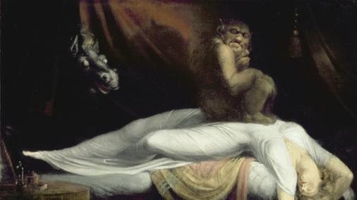Le cauchemar, 1781 (huile sur toile) de Johann Heinrich Fussli Detroit Institute of Arts, USA/The Bridgeman Art Library
