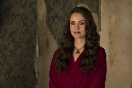 Carla Gugino dans The Haunting of Hill House / Netflix