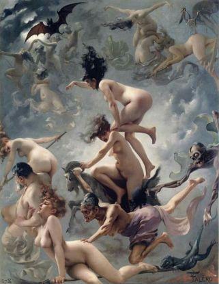 Witches on the Sabbath, Luis Ricardo Falero (1878)