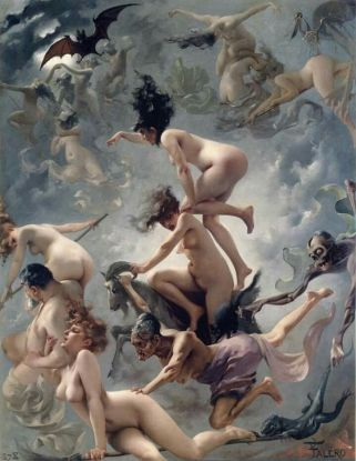 Witches on the Sabbath, Luis Ricardo Falero (1878)